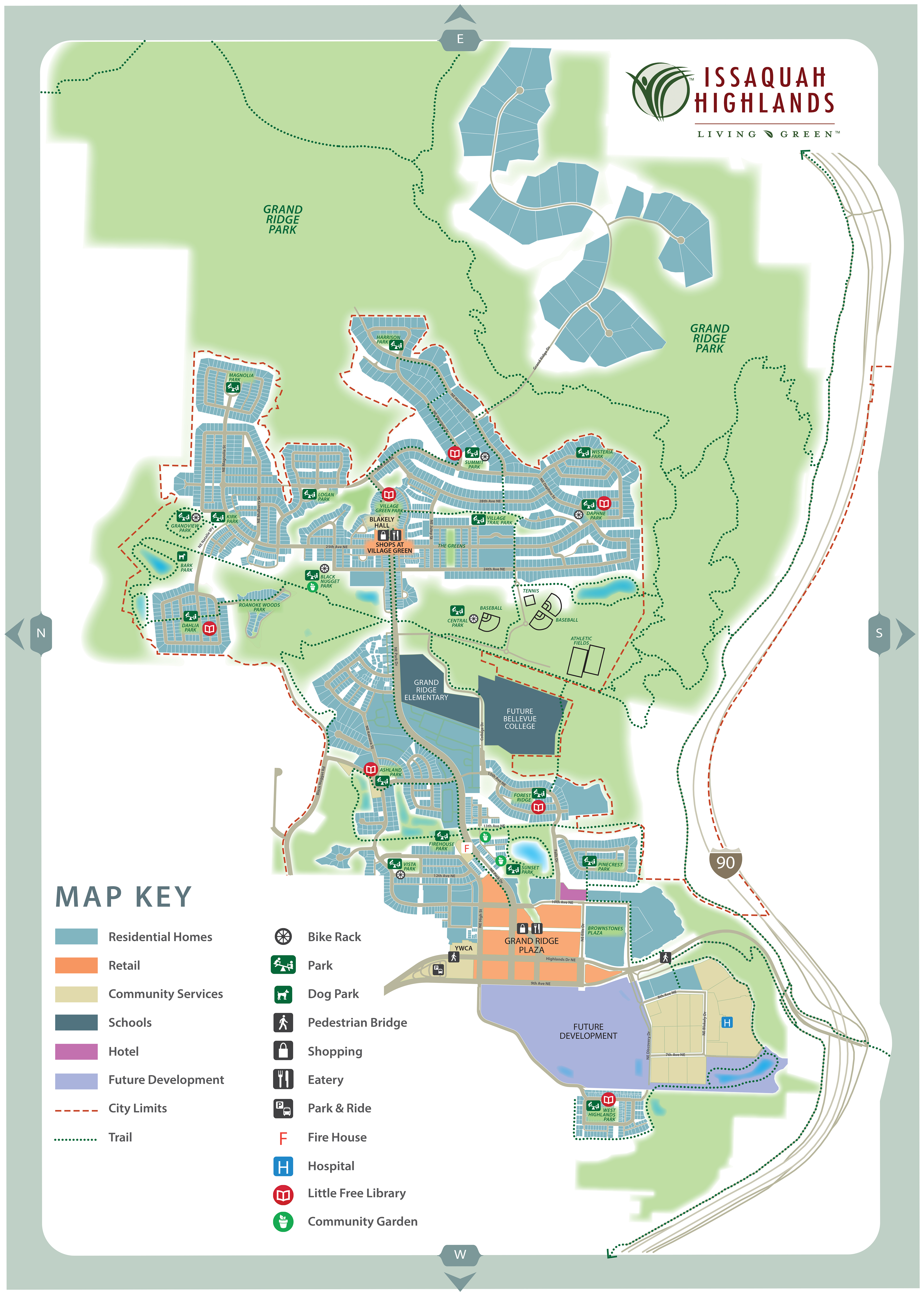 Maps And Webcams Issaquah Highlands