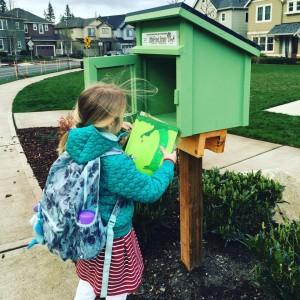 Little Library Forest Ridge by Elizabeth Dixon List