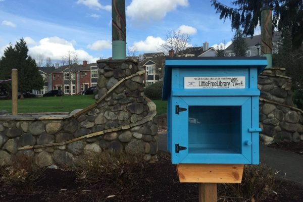 Little Library in Ashland Park