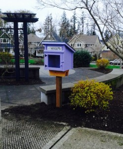 Little Library in Dahlia Park