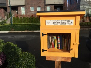 Little Library in West Highlands Park