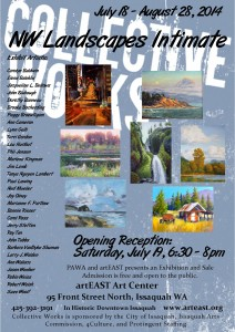 07_2014 NW Landscapes Intimate Exhibit Collective Works e-card