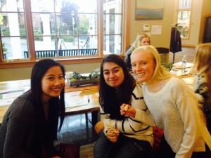 Kaila, Sahar and Larissa
