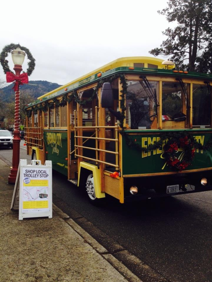 Shop Local Trolley 2013