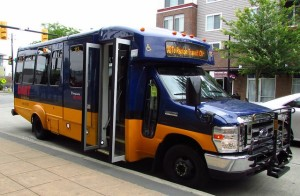 DART Metro Shuttle bus