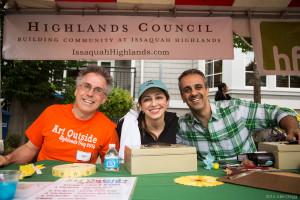 HighlandsDay2014 (91 of 310) Volunteers Gary Ashby, Dr Shadi and Dr Ray