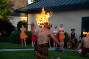 Sunshine of Polynesia7 FIRE KNIFE