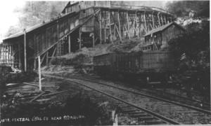 Other History Hike Grand Ridge Mine GR Coal Bunker