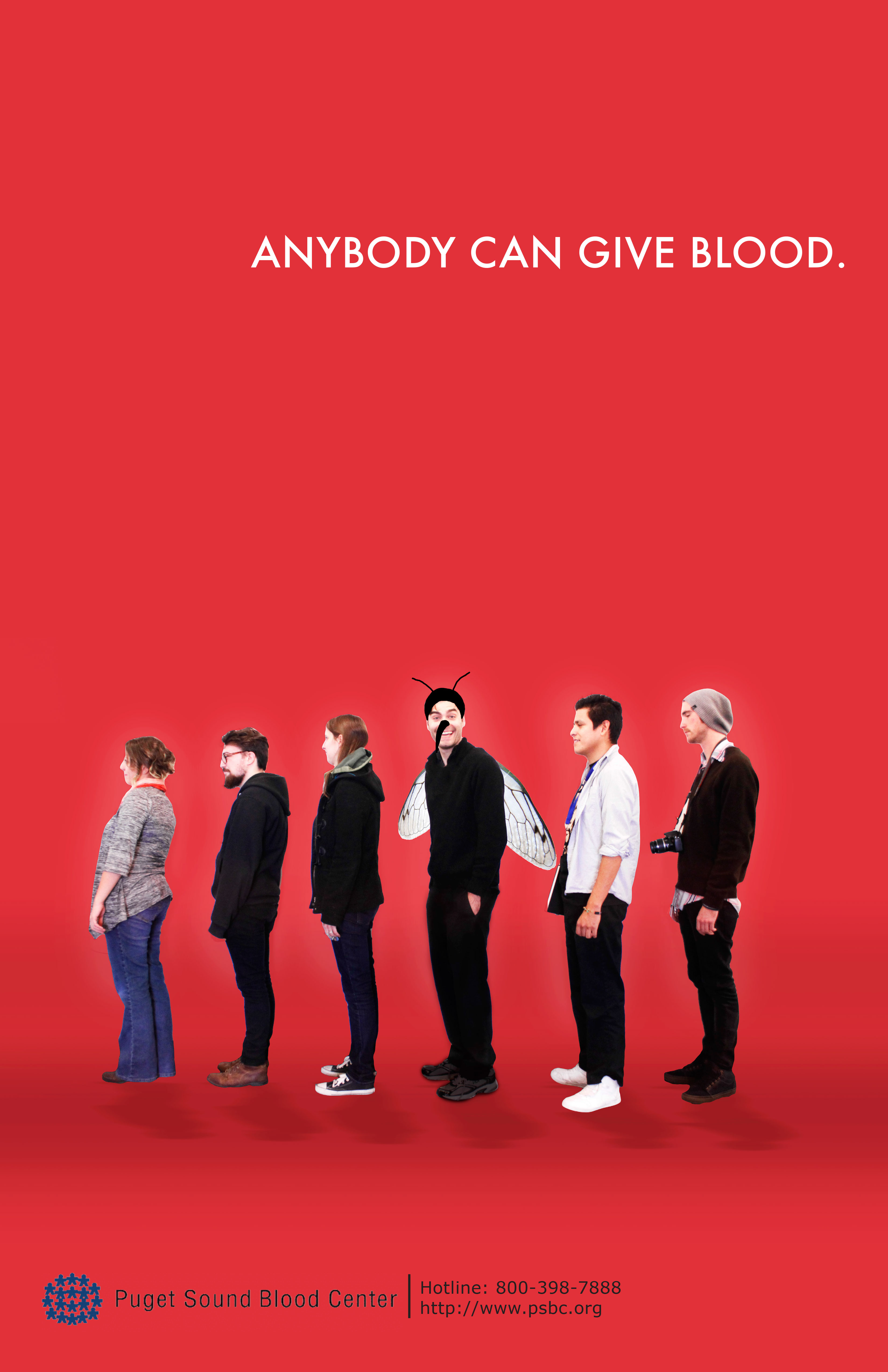 Anybody Can Give Blood