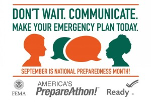 Emergency Preparedness Month 1509 Square