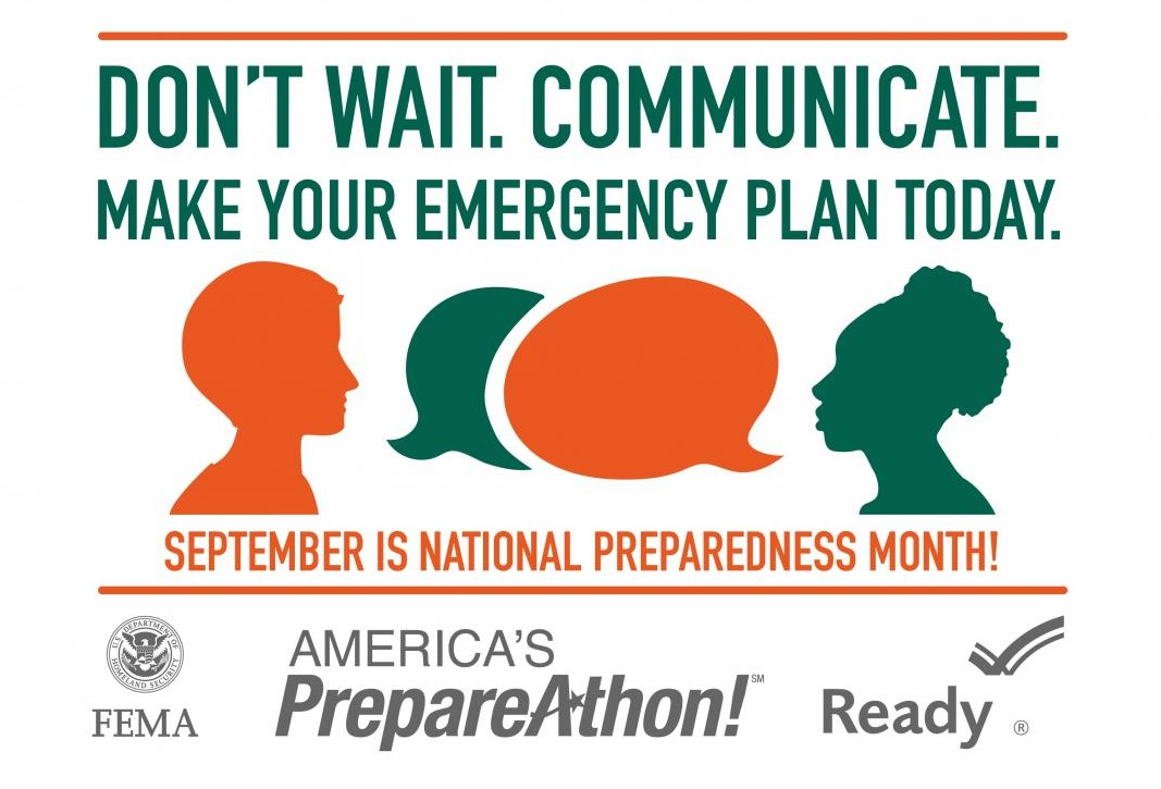Emergency Preparedness Month 1509 Square