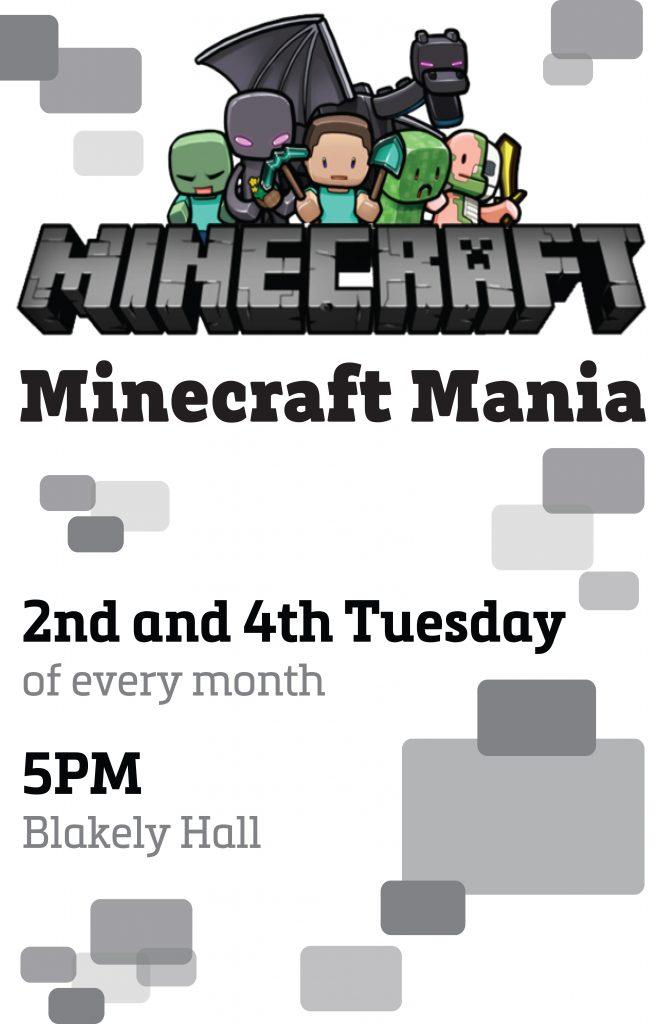 Minecraft Mania Issaquah Highlands