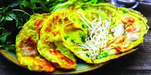 Culture Cuisine Vietnam Sept 2015 Banh xeo