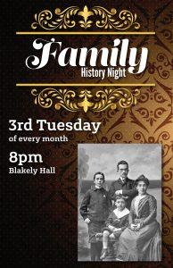 Family History Night