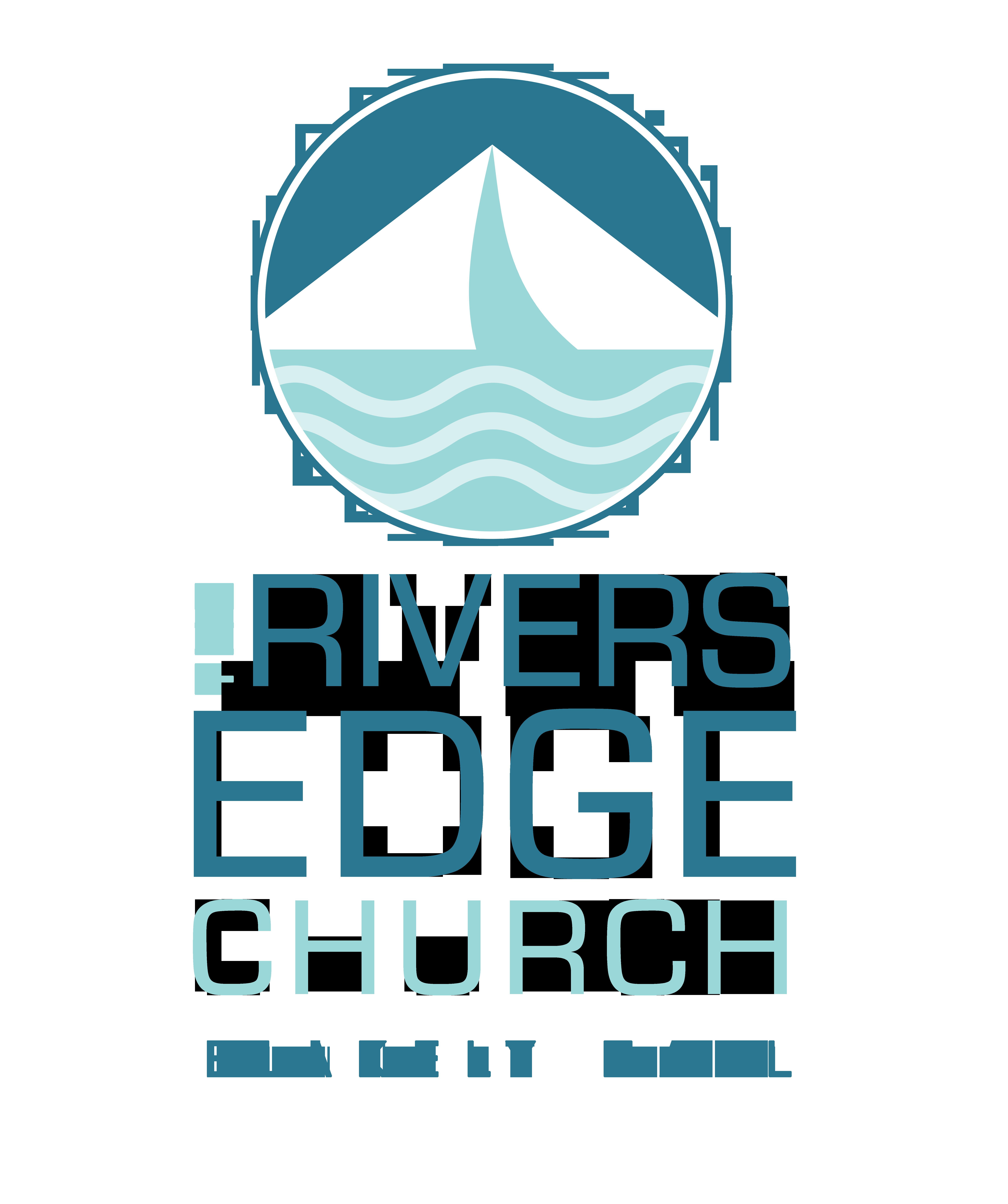 Rivers Edge church BH vert logo