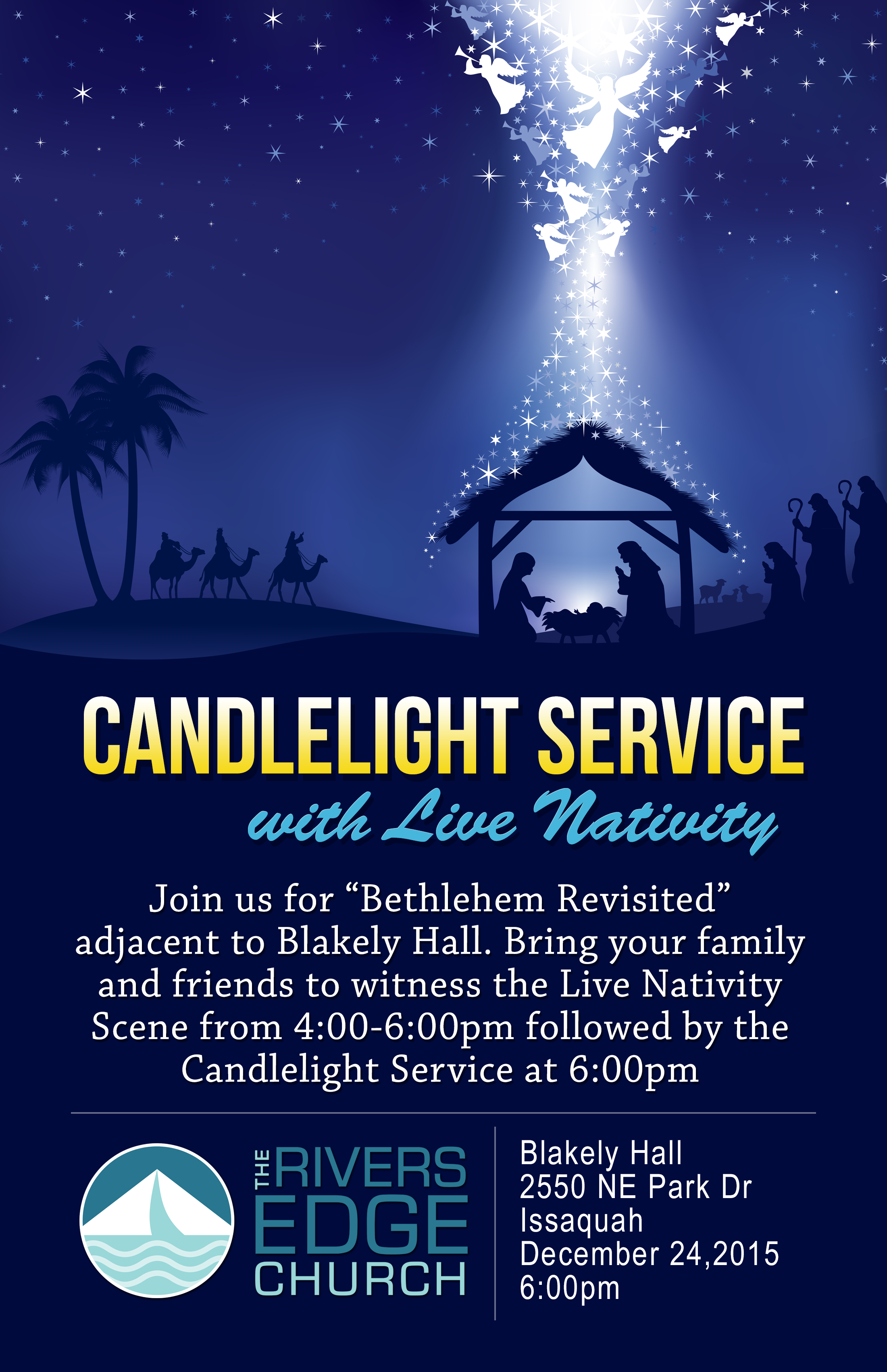 christmas eve live nativity followed by 6pm candlelight service - Church Of The Highlands Christmas