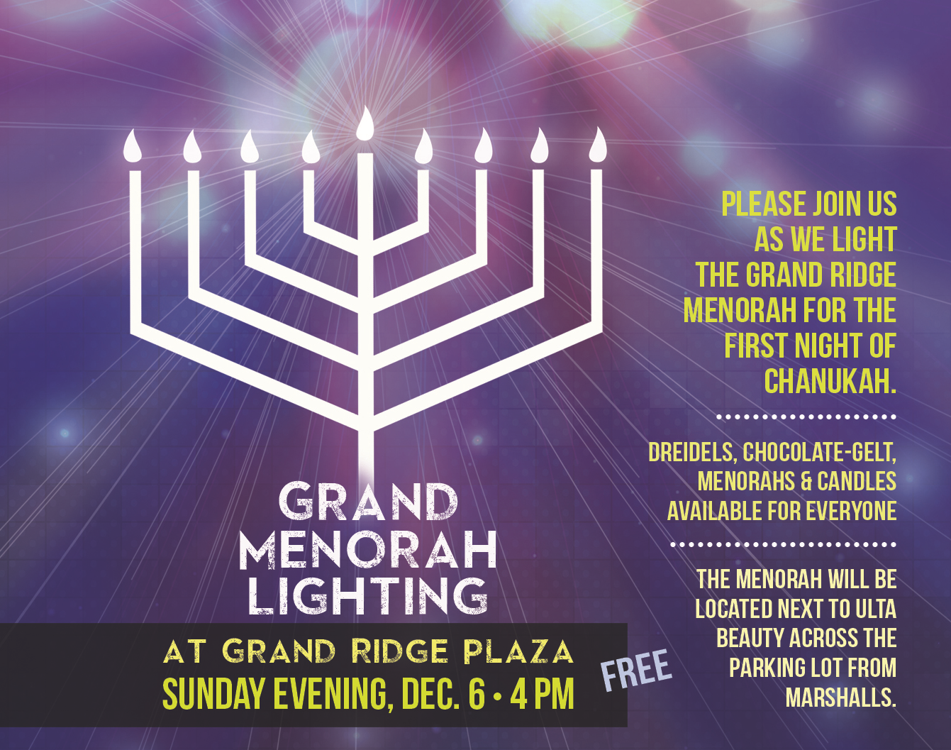 Menorah Lighting 2015 GRP