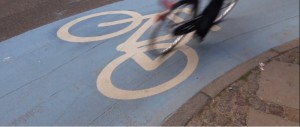 Bike lanes from trailer