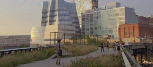 NYC Highline from trailer