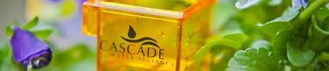 Cascade Water logo in photo