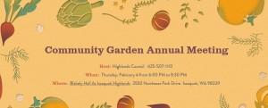 Community Garden Potluck 2016