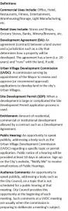 Definitions Development Update 2016