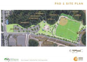 Central Park Pad 1 Site Plan