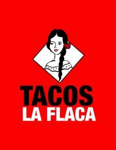 Tacos La Flaca logo