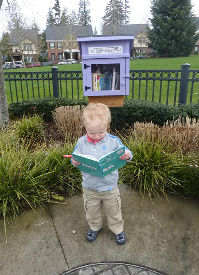 HC Little Libraries boy trowern