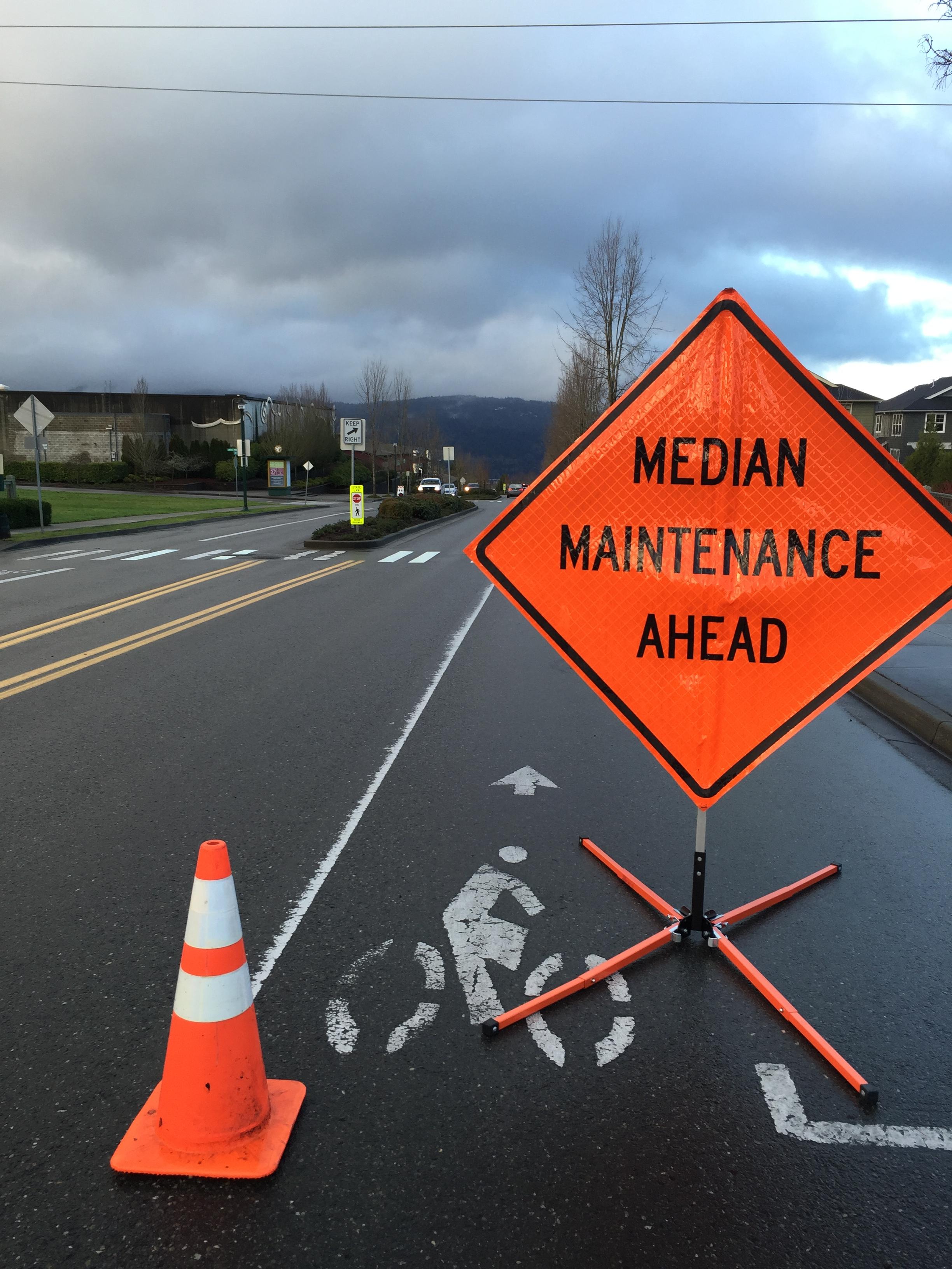 IHCA maintenance sign IMG_0266