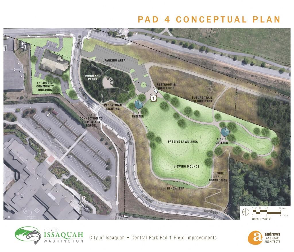 Central Park Pad 4 Conceptual Plan SM