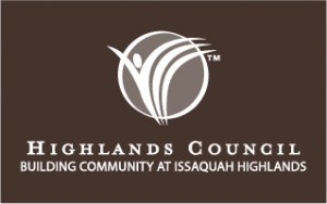 HC logo white on brown