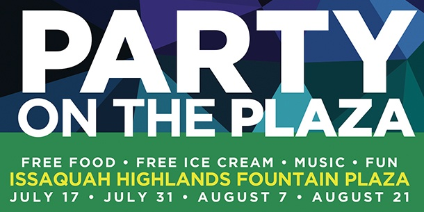 Party on the Plaza all dates