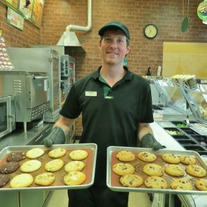 Subway Cookies - Squared