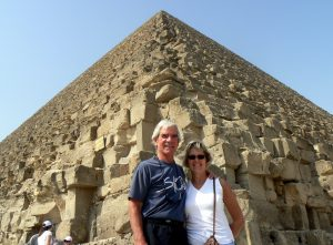 VOM Pat_Mike Traveling to Egypt