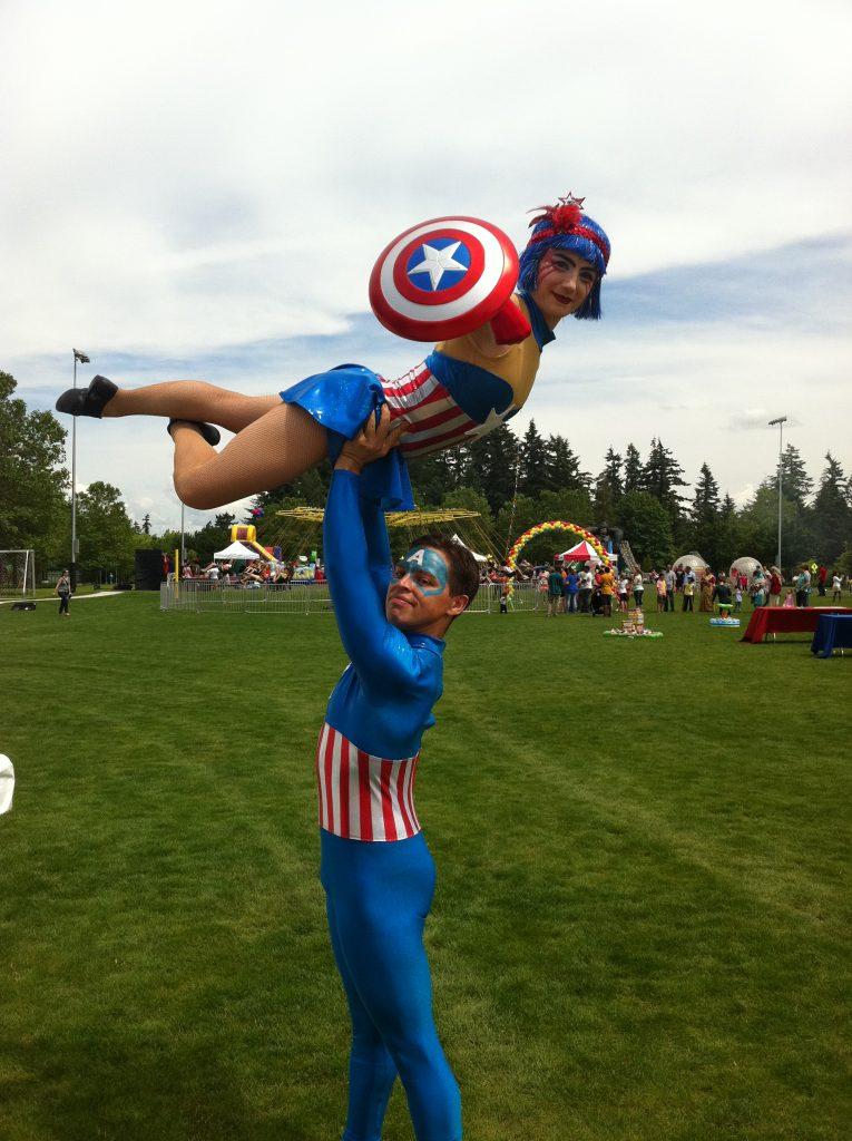 Captain America Duo - Copy