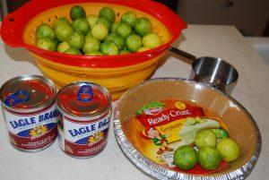 Culture Through Cuisine Key Lime Pie Ingredients