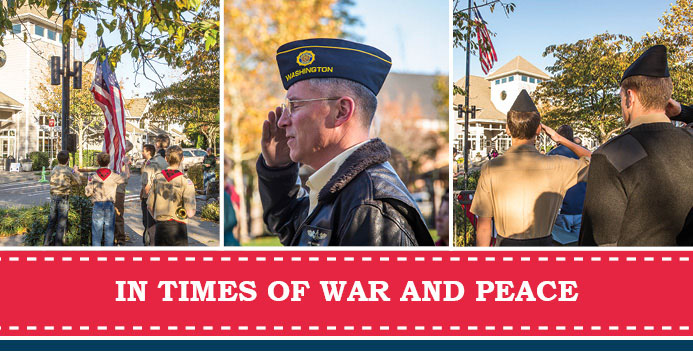 Veterans Day in Issaquah Highlands