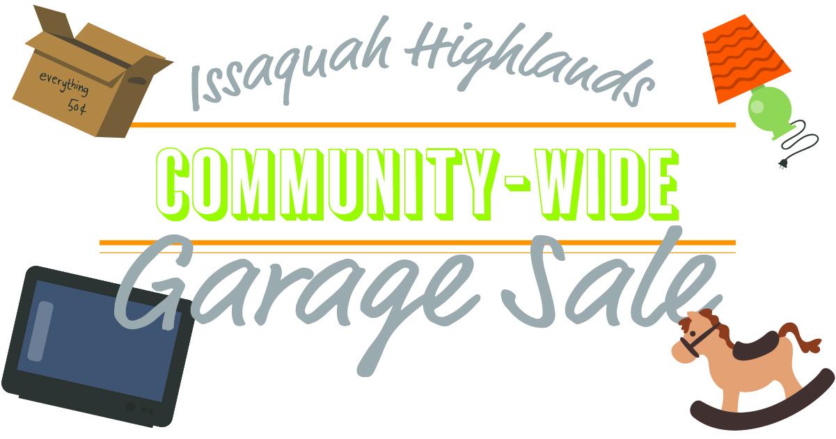 Issaquah Highlands Garage Sale