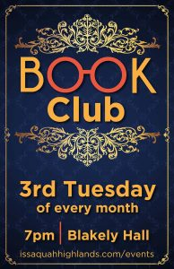 Book Club Issaquah Highlands