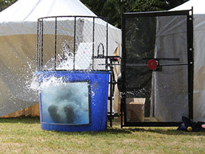 Highlands Day Festival Dunk Tank