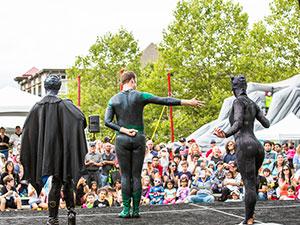 Highlands Day Festival Stage