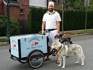 Issaquah Ice Cream Trike