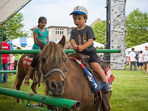 Highlands Day Festival Pony Rides