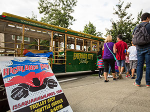 Highlands Day Festival Trolley Shuttle
