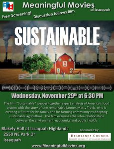 Meaningful Movies presents Sustainable
