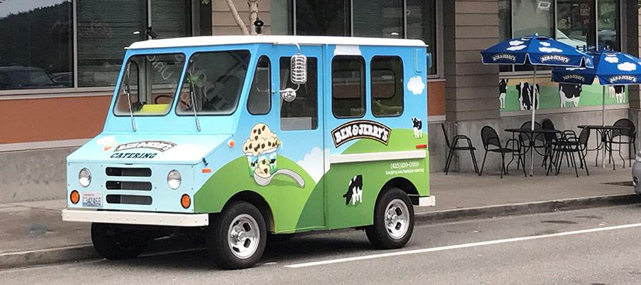 Ben & Jerry's Issaquah Highlands Food Truck