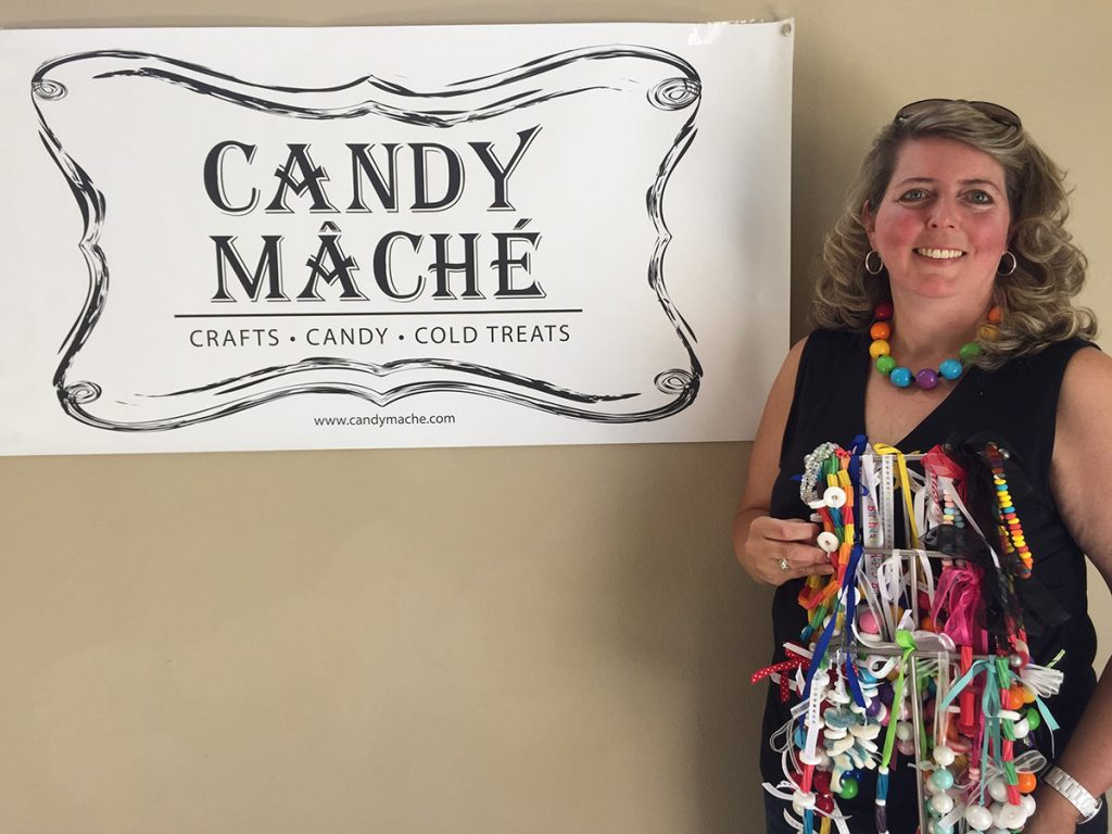 Candy Mache Issaquah Highlands Owner Brenda Zylstra