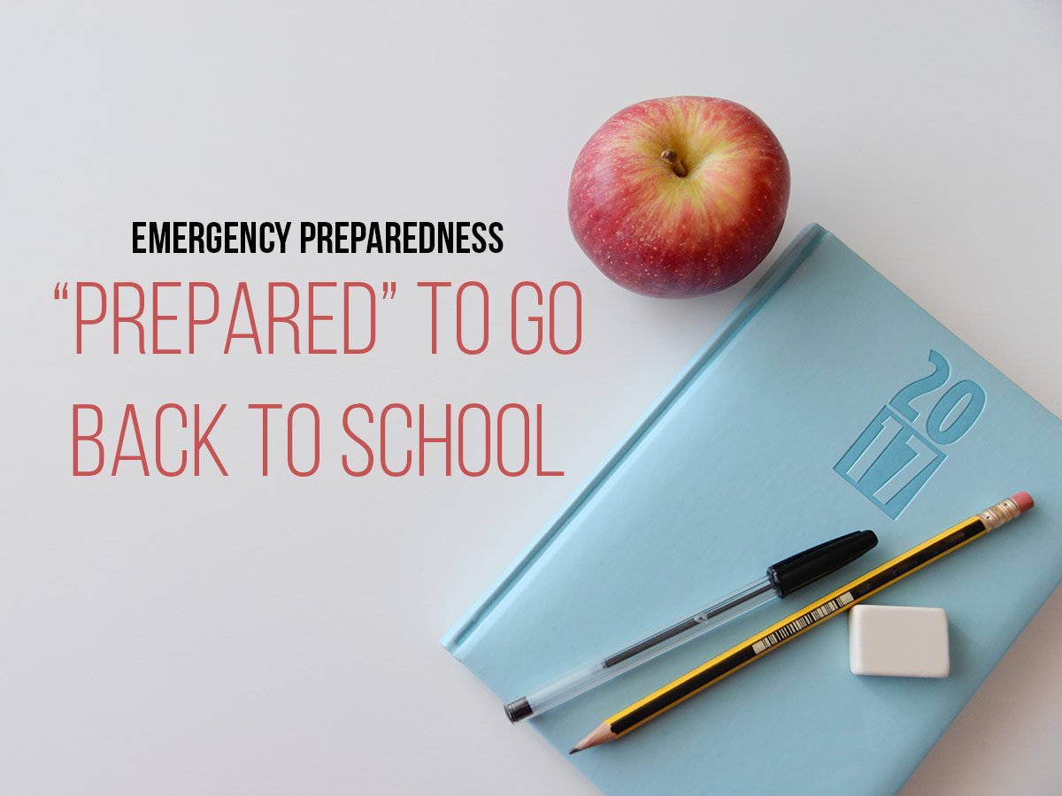 Emergency Preparedness Back to School Issaquah Highlands