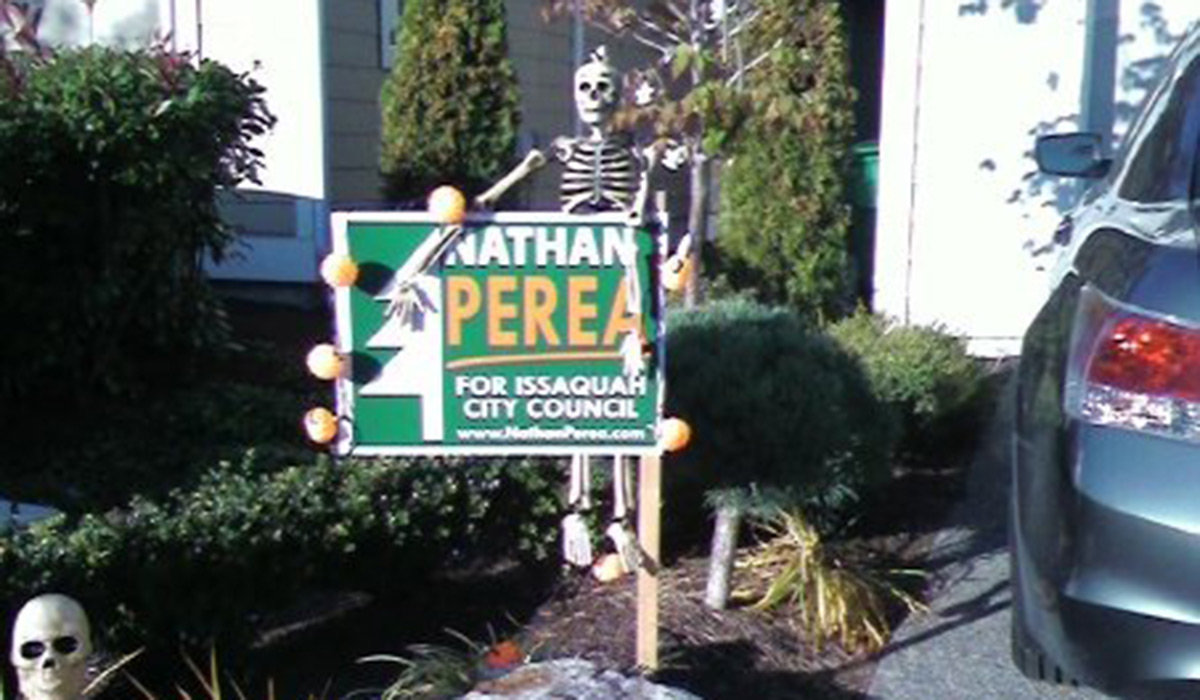Nate Perea City Council Run Issaquah